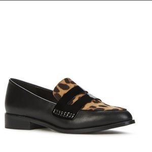Adorable Leopard Print & Patent Leather Loafer